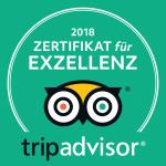 tripadvisor 2018 Zertifikat