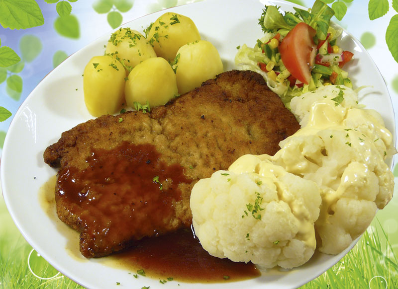 Blumenkohl-Schnitzel